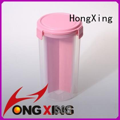 food plastic food storage compartments for salad HongXing