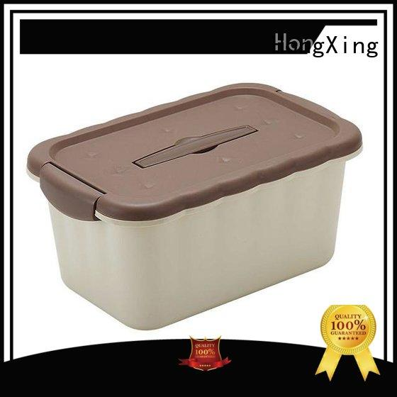 HongXing great practicality plastic storage boxes with handle great practicality for macaron