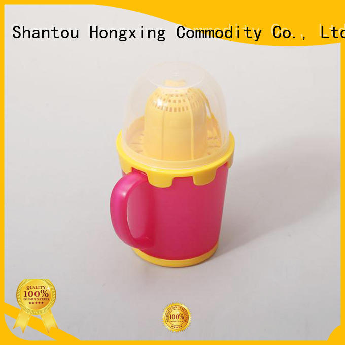 HongXing Cute plastic tea cups free design for drinking