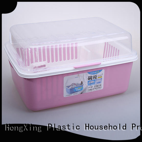 dishes plastic dish drying rack bowls for vegetables HongXing