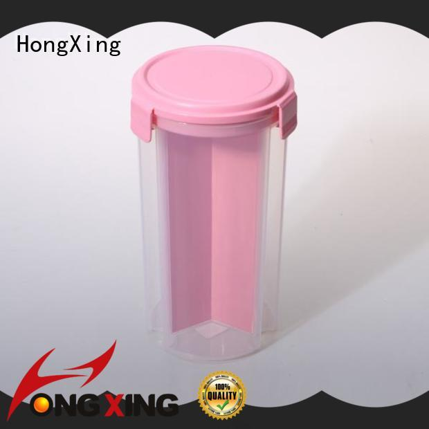 fresh plastic food storage containers in different colors for noodle HongXing