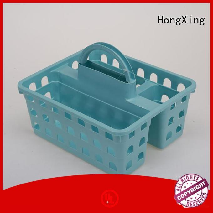 HongXing different colors plastic laundry basket with lid with affordable price for storage clothes