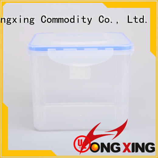 HongXing safe plastic containers with lids for cookie
