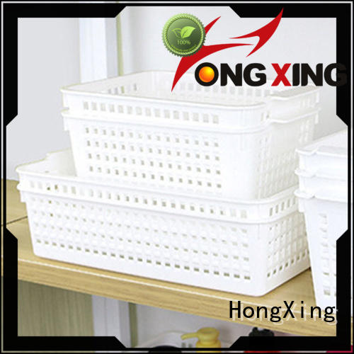 white china plastic household items with reasonable structure for storage clothes HongXing