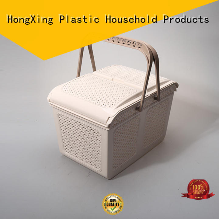 different layers plastic storage basket storage with affordable price for storage books