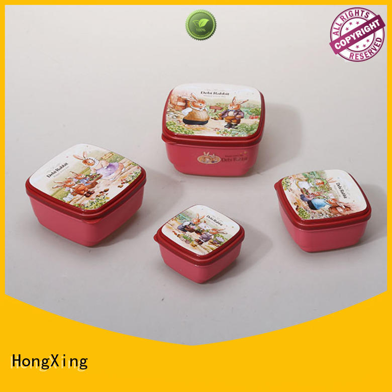 HongXing food plastic food containers for cookie