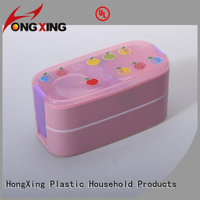 HongXing spoon microwavable lunch containers good design for vegetable