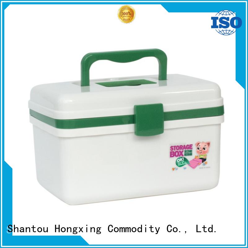 HongXing plastic portable tool box pp for car
