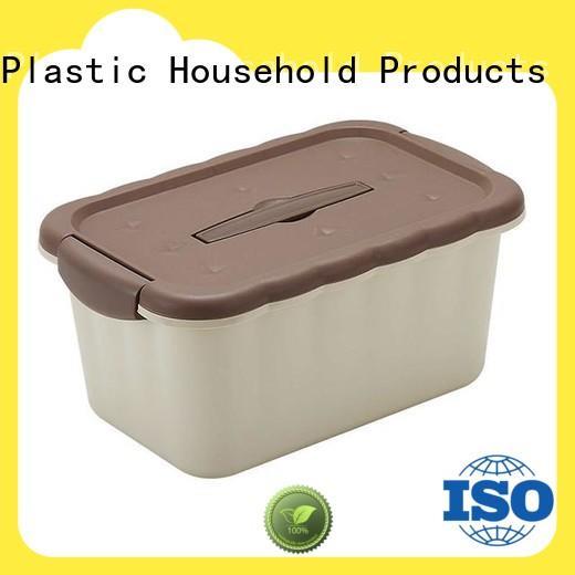 plastic storage container handleplastic for salad HongXing