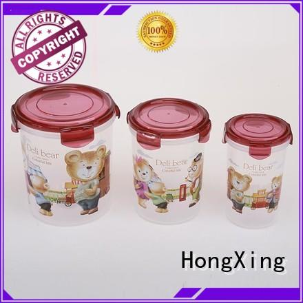 HongXing stable performance airtight food storage containers from China for fruits