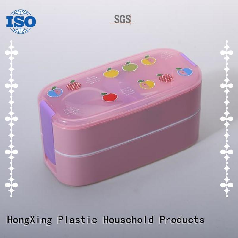 fashionable plastic tiffin box stable performance for candy
