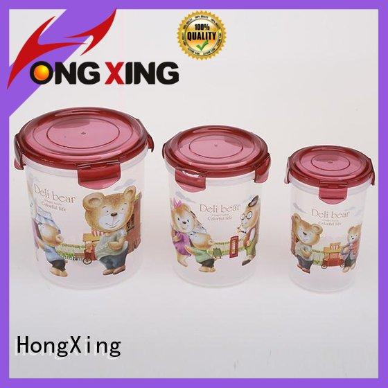 microwavable plastic airtight containers directly sale for vegetables HongXing
