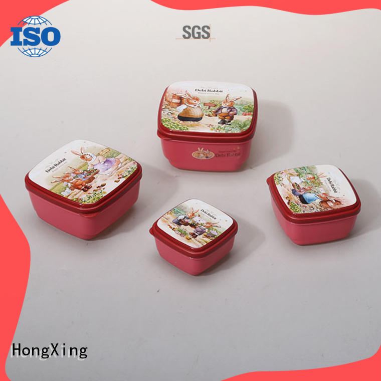 HongXing good design plastic food storage containers manufacturer for candy
