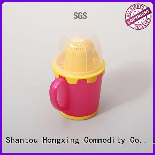 reusable plastic mugs printing for kitchen squeezer HongXing