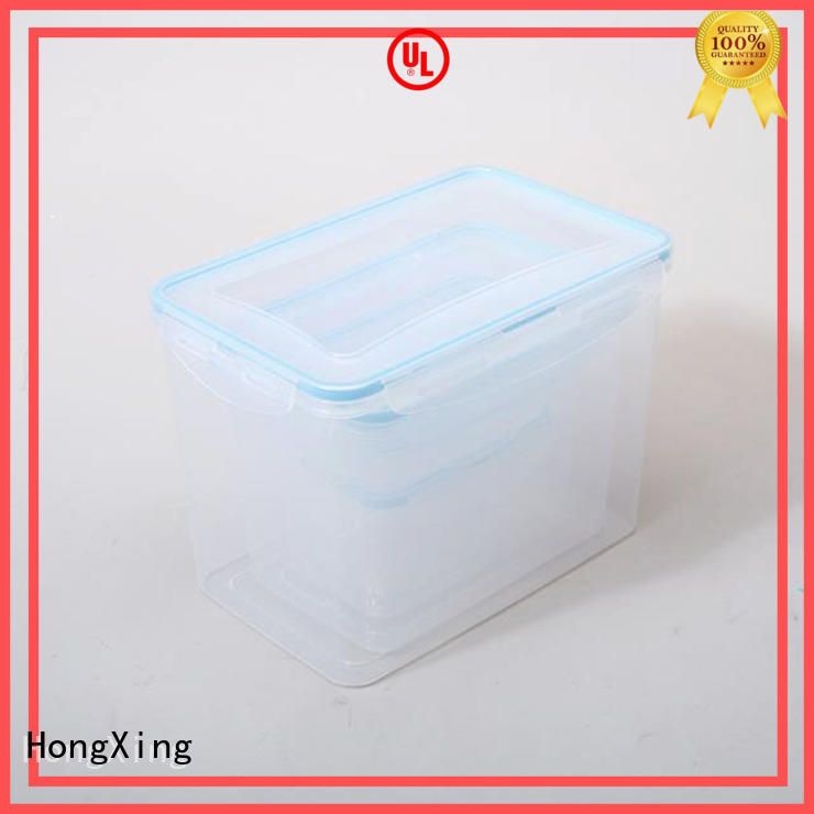 food airtight plastic containers factory price for salad HongXing
