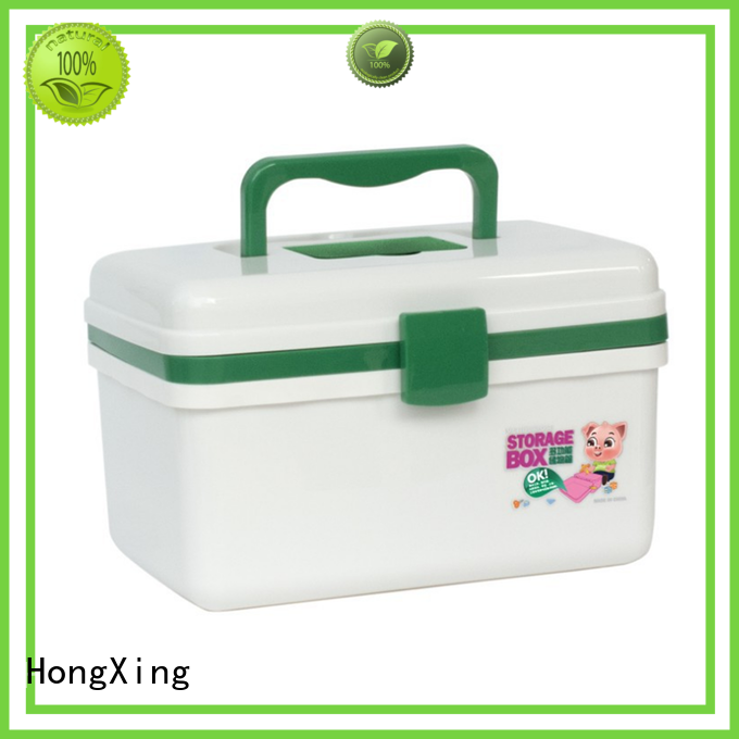 HongXing good quality plastic first aid box Keep food fresh in different colors