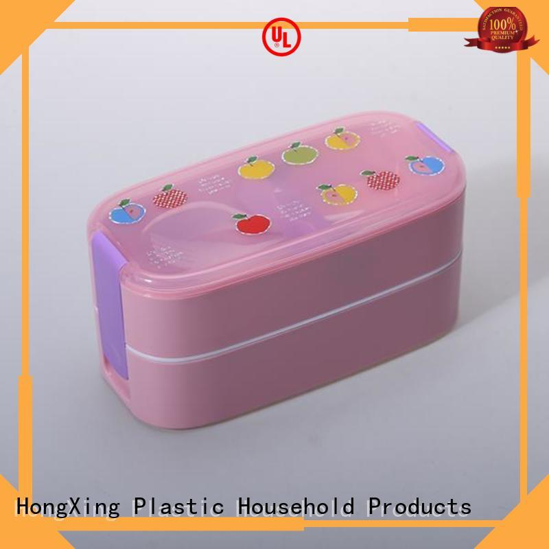 HongXing Microwave Safe microwave lunch box for vegetable