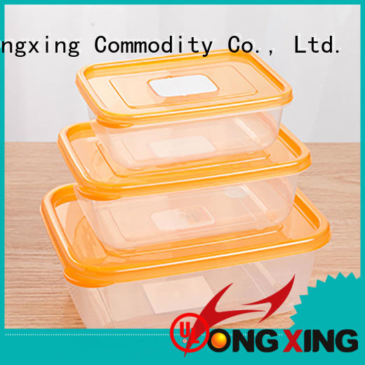HongXing microwavable food grade plastic containers for noodle