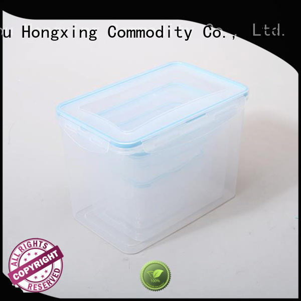 HongXing container airtight food storage containers with good price for bread