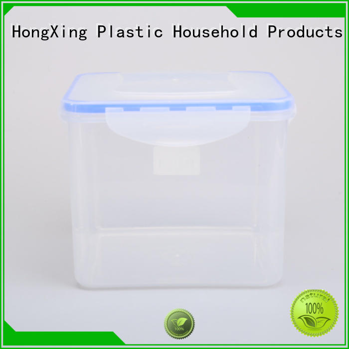 litres custom plastic food containers material for salad HongXing