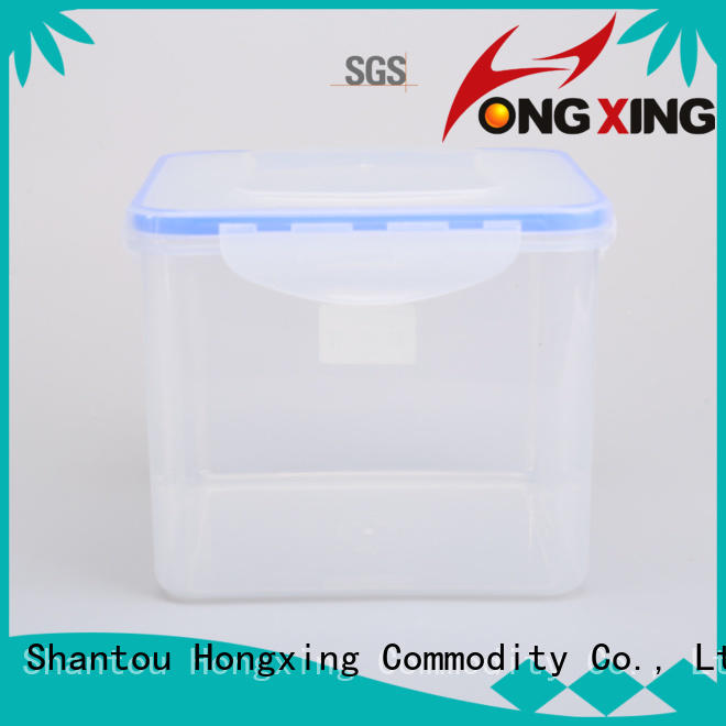 HongXing space-saving design airtight container set factory price for fruits