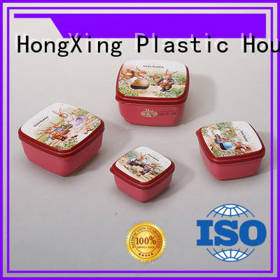 HongXing different shapes plastic food storage wholesale for bread