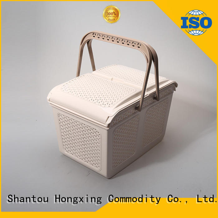 plastic storage basket multifunction HongXing