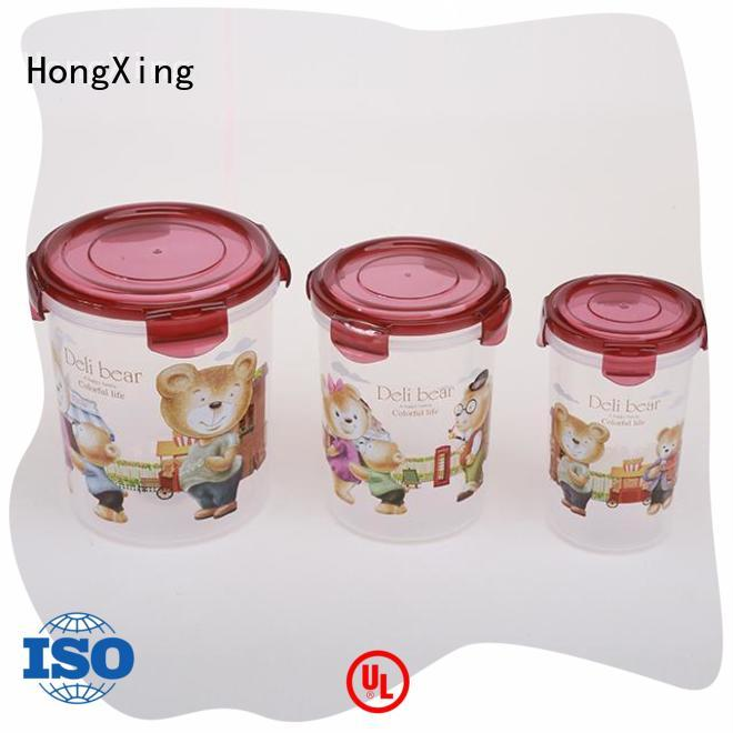 HongXing 100% airtight airtight food storage containers from China for sandwich