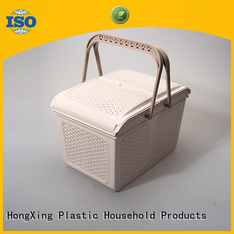 HongXing 100% leak-proof plastic mesh storage baskets with reasonable structure