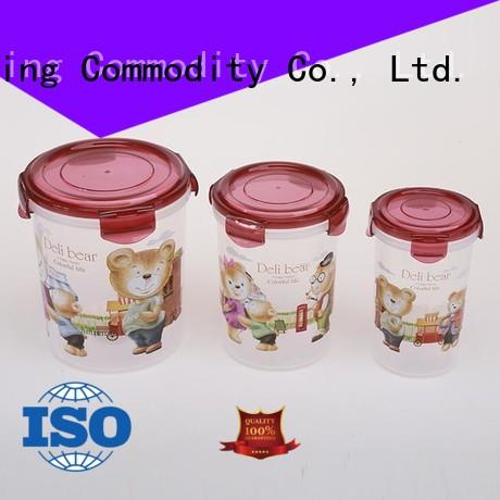 nested airtight plastic containers directly sale for cookie