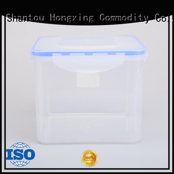 HongXing safe plastic food storage containers directly sale for rice