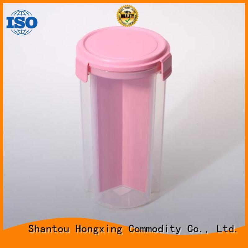 different shapes commercial plastic food containers for sandwich HongXing