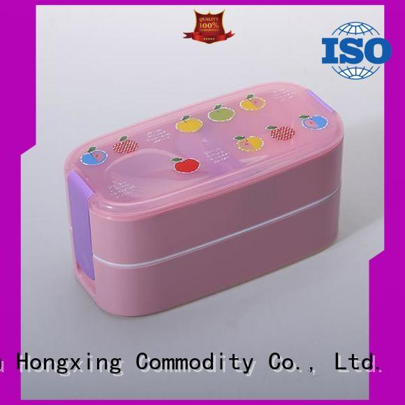 plastic bento lunch box spoon for noodle HongXing