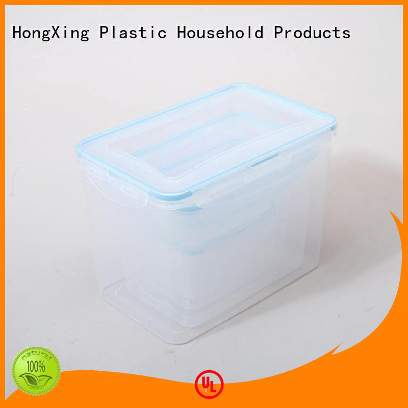 plastic kitchen storage containers nested saving sugar HongXing