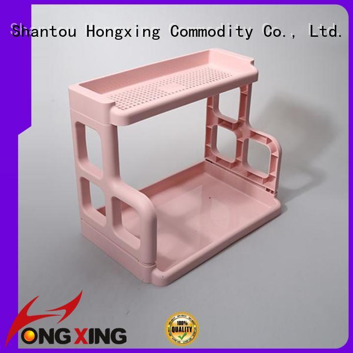 HongXing large capacity kitchen counter shelf rack racksorganizers for drinking