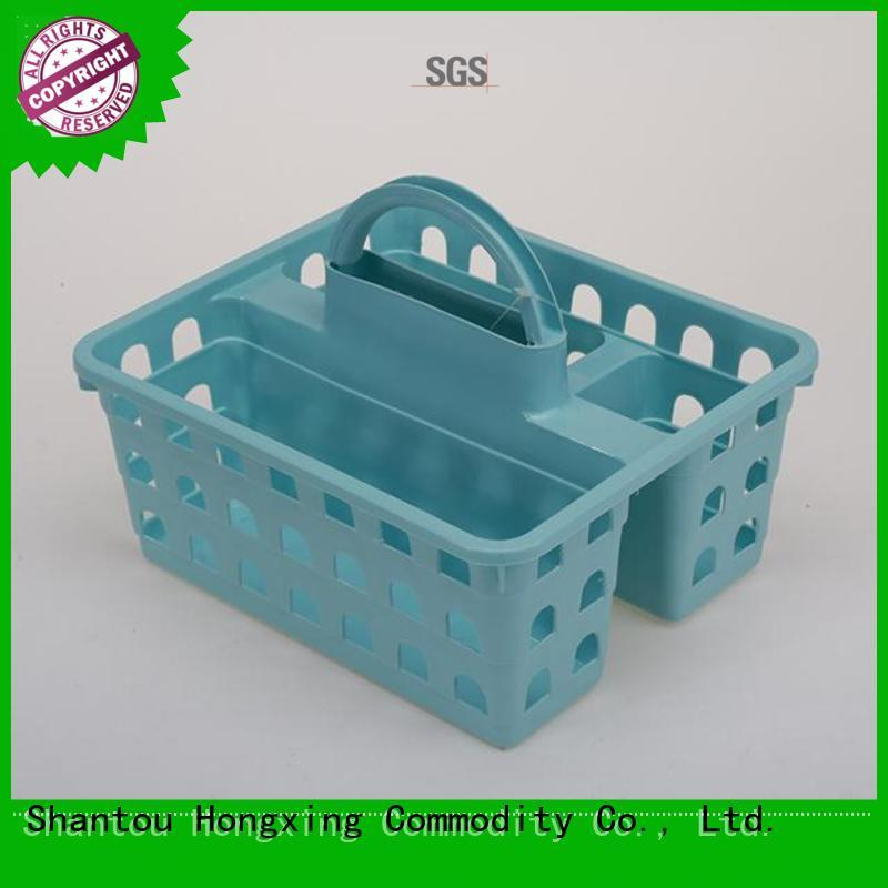 plastic laundry basket with handles handle for storage jars HongXing