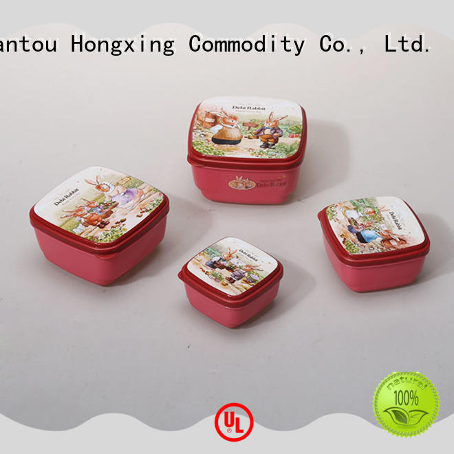 sizes plastic airtight container material for sandwich HongXing