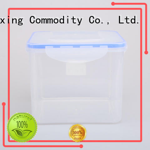 HongXing box airtight food storage containers with many colors for snack