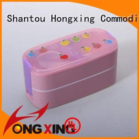 HongXing stable performance bento lunch box containers for vegetable