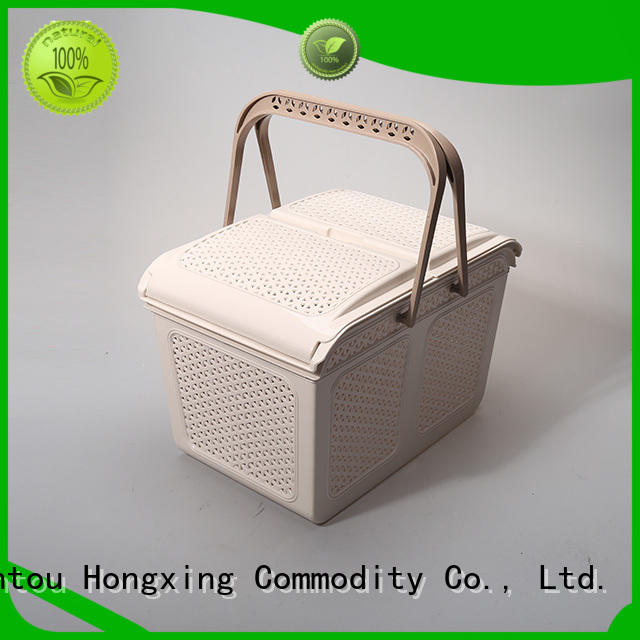 HongXing basket plastic basket with reasonable structure