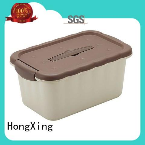 plastic storage boxes with wheels container for bread HongXing