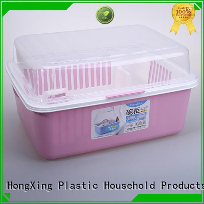 affordable plastic dish rack lid button design for kitchen