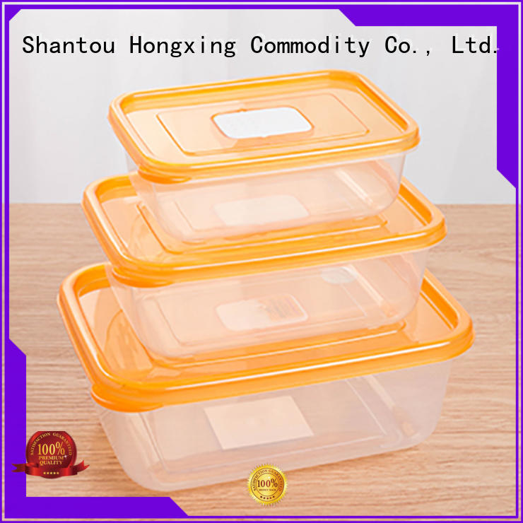 HongXing great practicality plastic food storage  manufacturer for bread