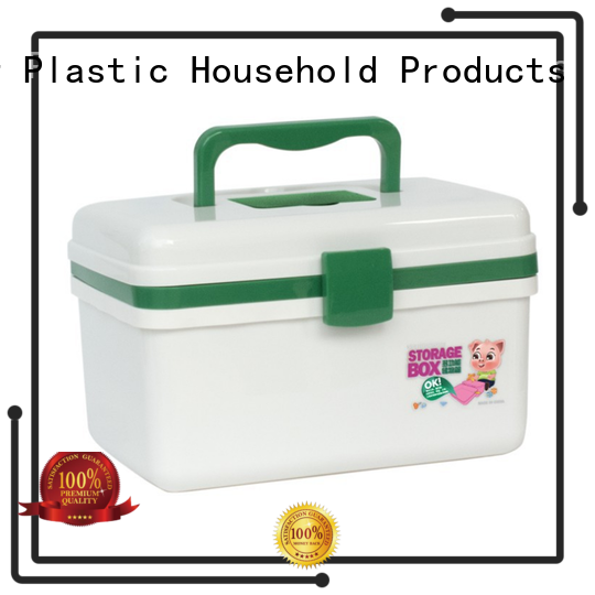 durable handle small plastic tool box with handle with reasonable structure for car HongXing