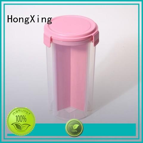 plastic food storage boxes material for cookie HongXing