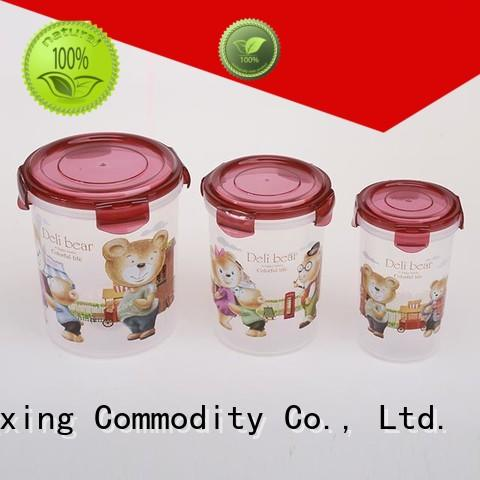 airtight storage container set microwavable for cookie HongXing