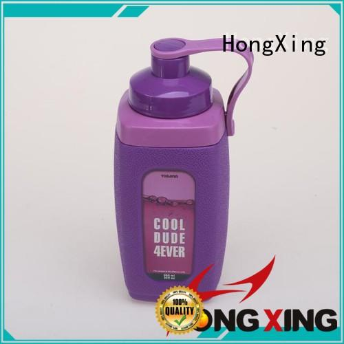 960ML PP material square plastic sporty water&plastic drink bottle with handle