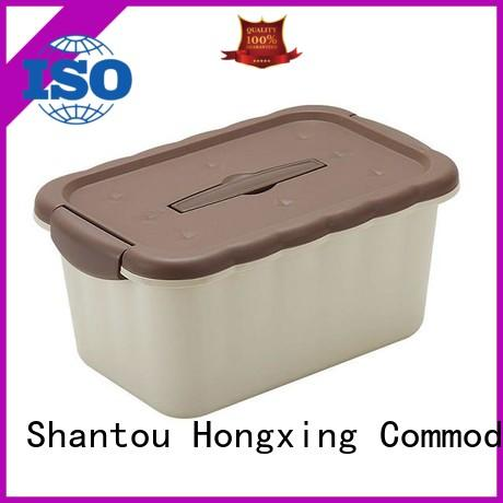 box plastic container box stable performance for candy HongXing