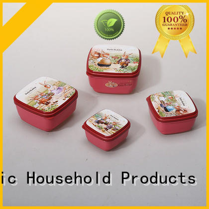 HongXing Japanese style plastic food storage boxes in different colors for macaron