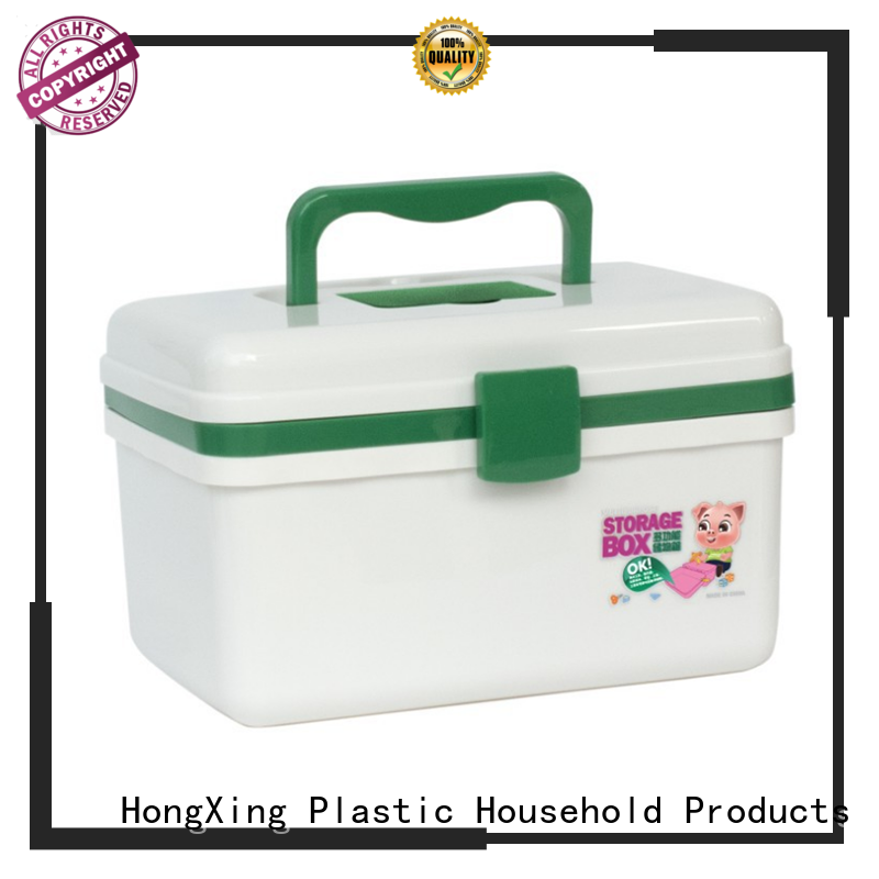 different printing plastic tool box with compartments with affordable price in different layers